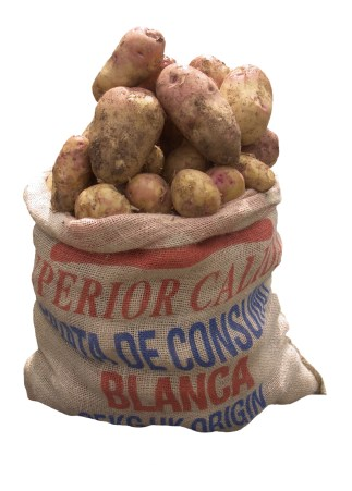 A sack of potatoes and all of it's rights.