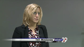 Teri Mastando on WHNT News 19