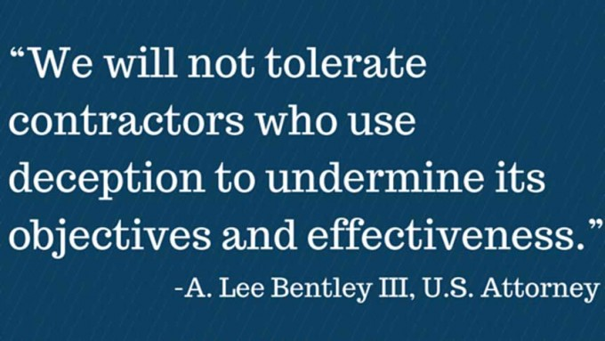 A. Lee Bentley III - Quote