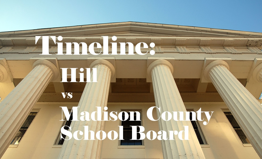 Hill vs Madison County School Board